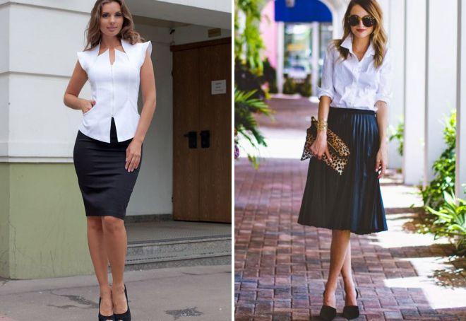 атласная юбка с чем носить