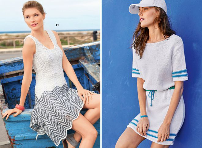 b4a447dab4fa Šaty v morskom štýle - modelky 26 pre najlepšie dovolenky na pláži