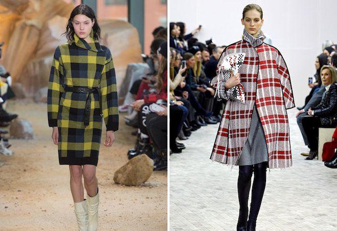3c127be8965 пальто в клетку 2017 2018 женское клетчатое пальто