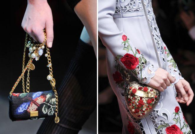 Sac Dolce Gabbana avec broderie