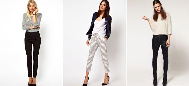 брюки дудочки в офис