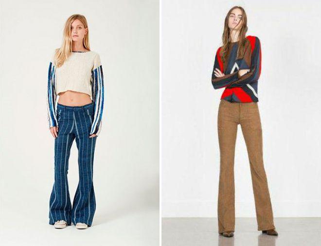 джинсы клеш 2018 года будут в моде