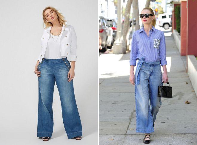 джинсы клеш при маленьком росте 2018