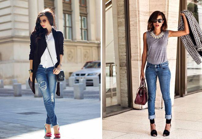 20bbca7150b Модные женские джинсы скинни – что значит