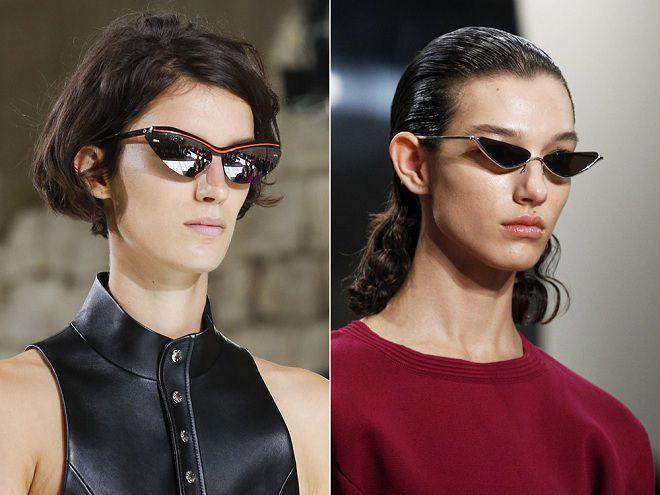 мода на женские очки 2018