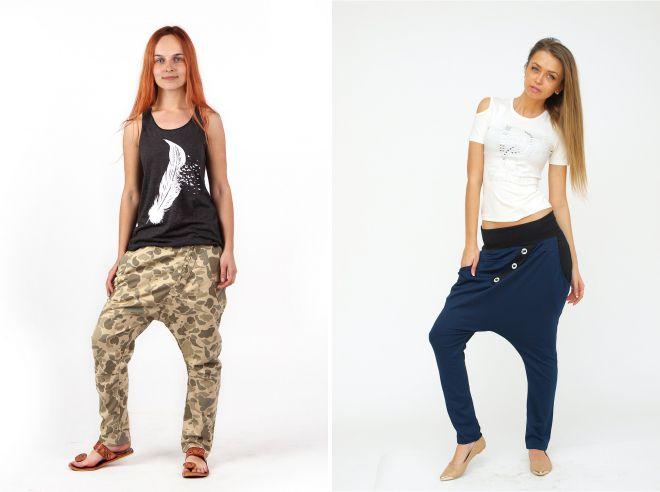 штаны с мотней 2018