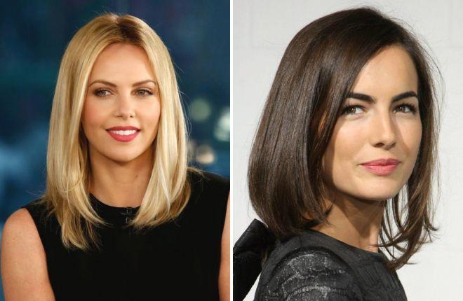 موهای کوتاه برای موهای متوسط بدون موی 2018