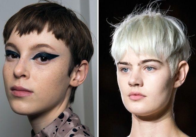 стрижки на короткие волосы 2018