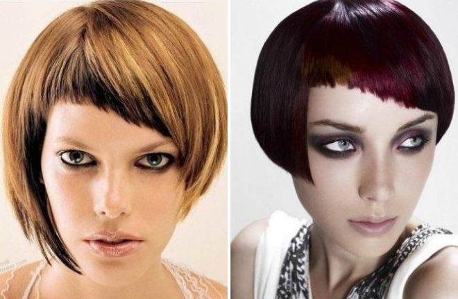 асимметричные стрижки на короткие волосы 2018 год