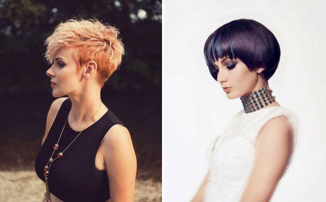 модный цвет волос 2018 на короткие стрижки