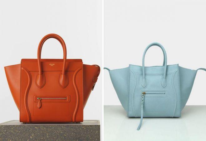 женская сумка celine luggage