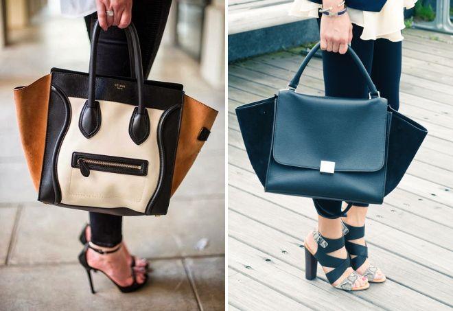 женские кожаные сумки celine