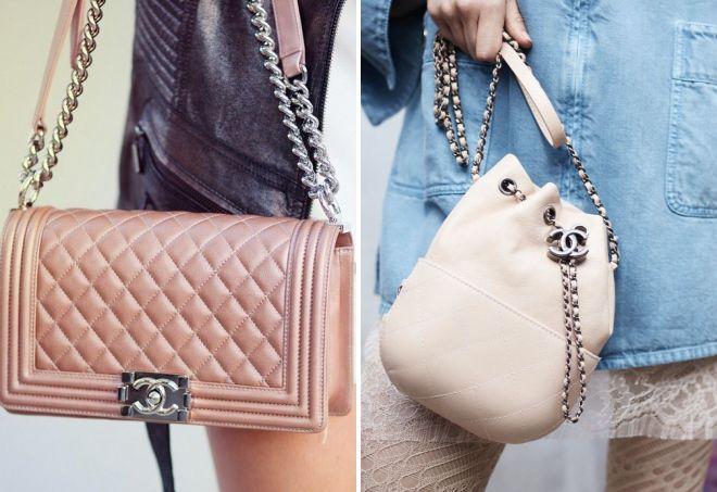 fcabdfdb Женские сумки Шанель – на цепочке и на пояс, дутые и пляжные ...