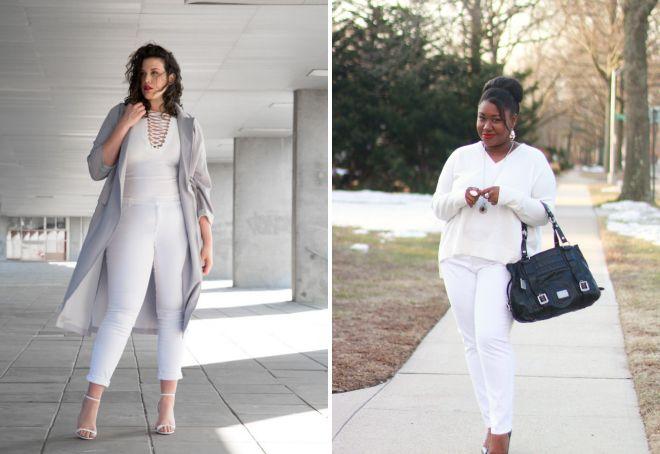 женские белые джинсы 2017