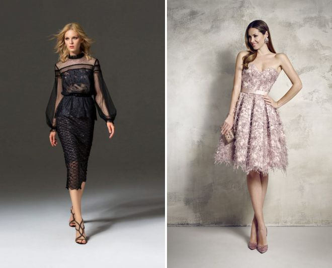 летние вечерние платья 2018