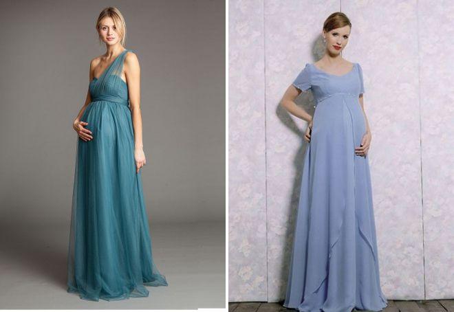 летнее вечернее платье для беременных