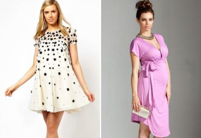 вечерние платья на лето для беременных
