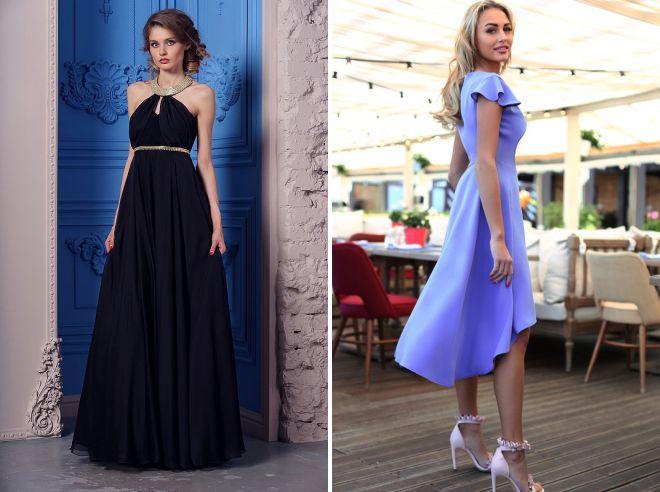 модные цвета летних вечерних платьев
