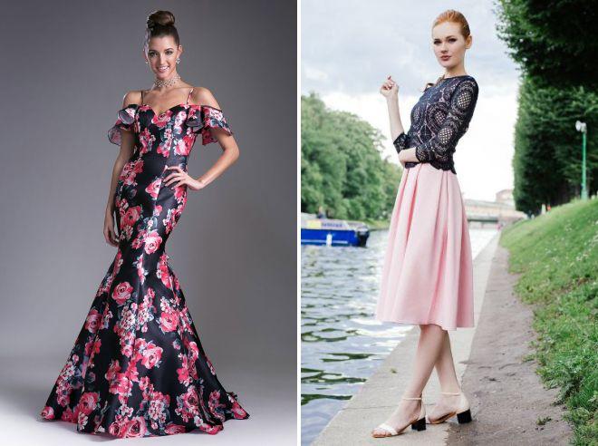 летнее легкое вечернее платье