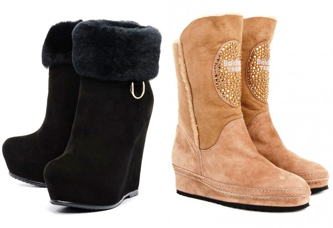 622591f12424 Korte vinterstøvler - med hvad man skal bære og hvordan man laver ...
