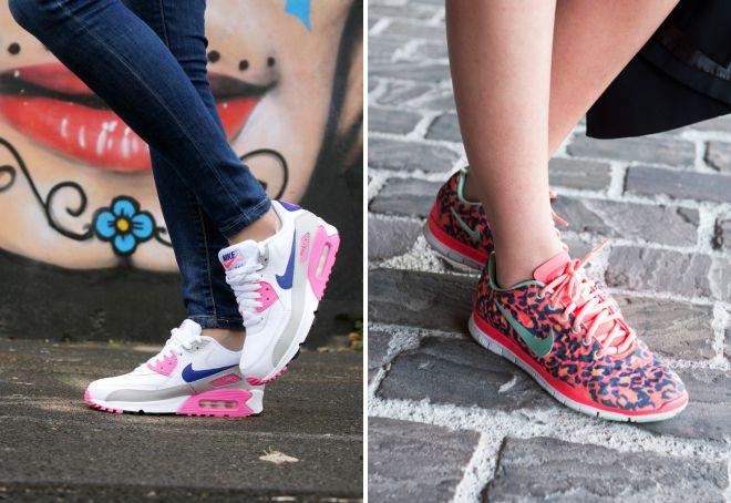 женские кроссовки городской стиль
