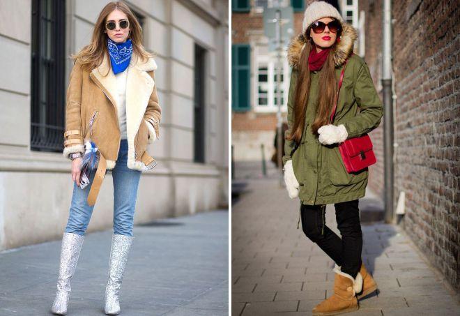 городской стиль зимой