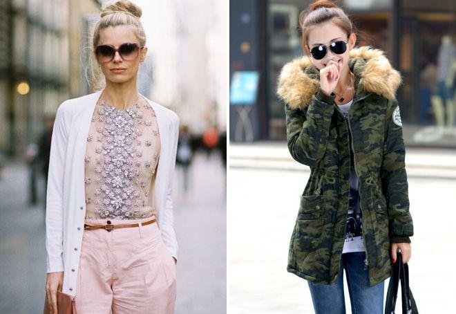 городской стиль в одежде 2018