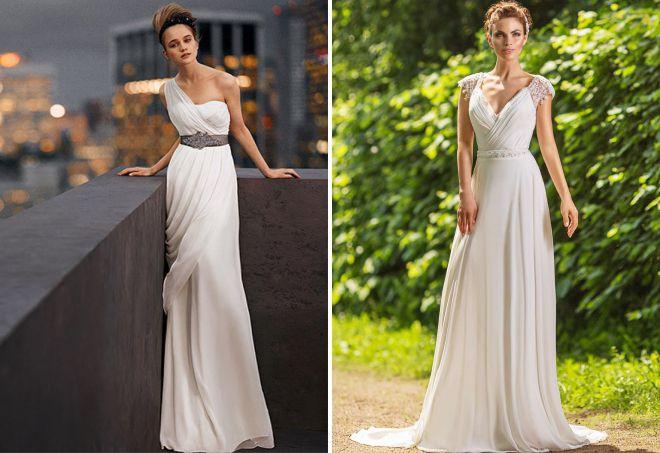 свадебное платье в романтическом стиле