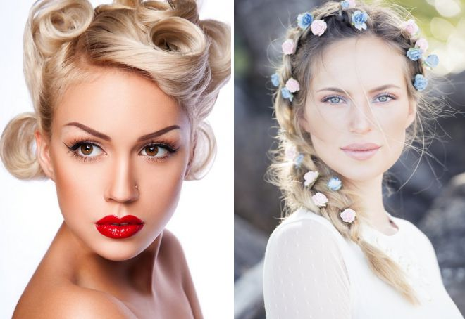 макияж в романтическом стиле