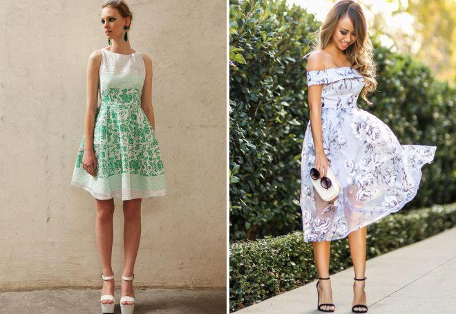 платья в романтическом стиле