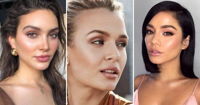 Нюдовый макияж 2019 идеи