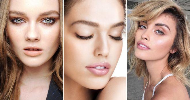 Нюдовый макияж 2019 варианты
