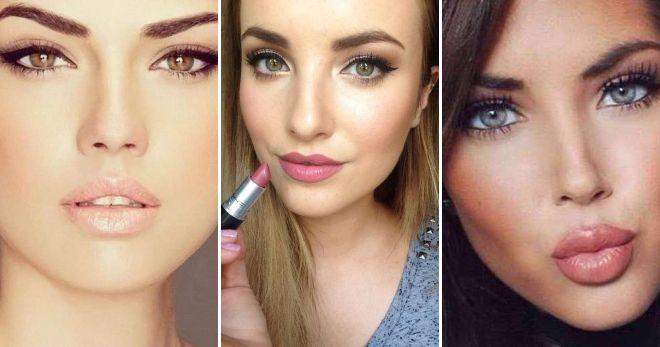Нюдовый макияж со стрелками идеи