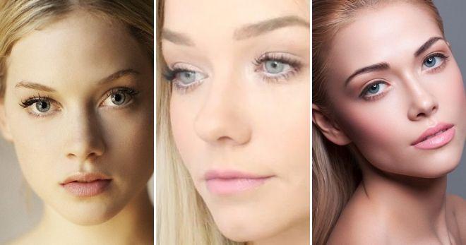 Нюдовый макияж губ варианты
