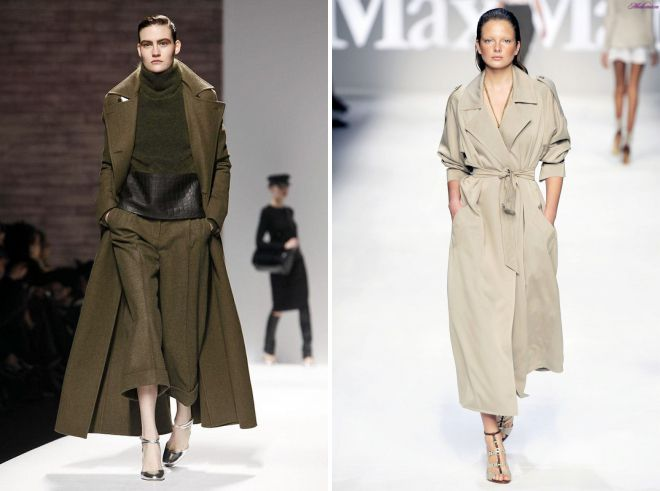 модное длинное пальто в пол 2018