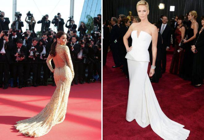 Красивые вечерние платья для женщин 50 лет открытая спина