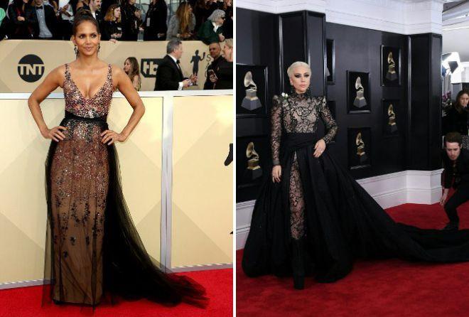 Самые красивые вечерние платья Гага Гарнер