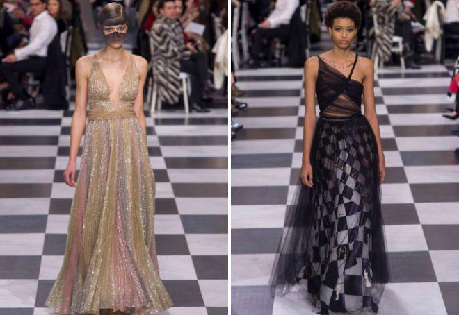 Красивые фасоны вечерних платьев