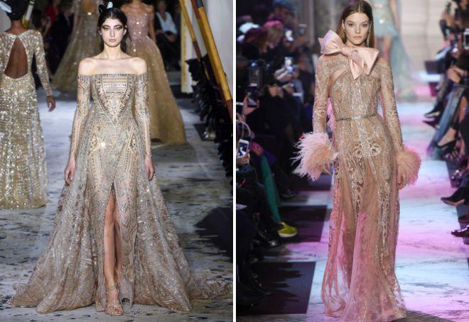 Красивые вечерние платья с длинным рукавом
