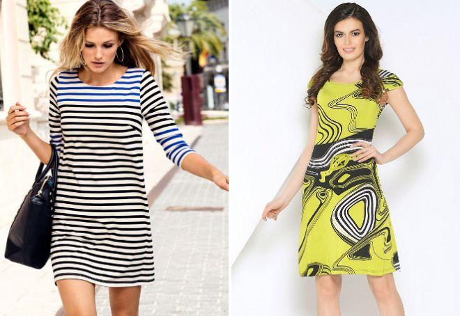 Легкие трикотажные платья