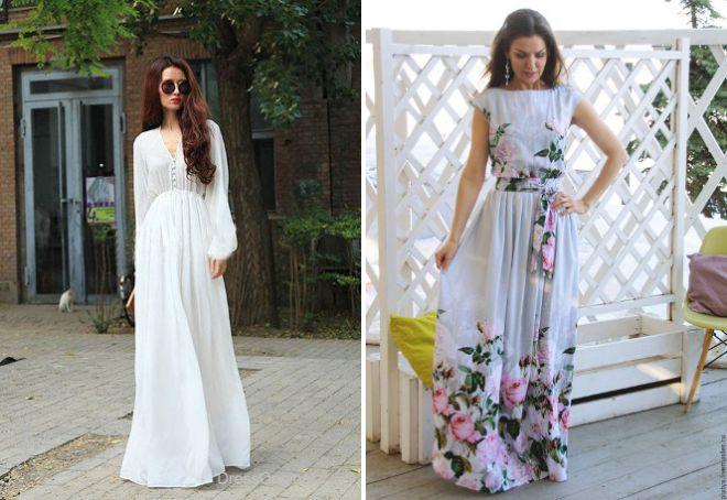 Легкие платья и сарафаны