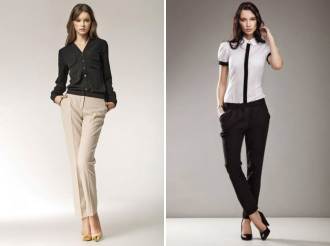 молодежный деловой стиль одежды
