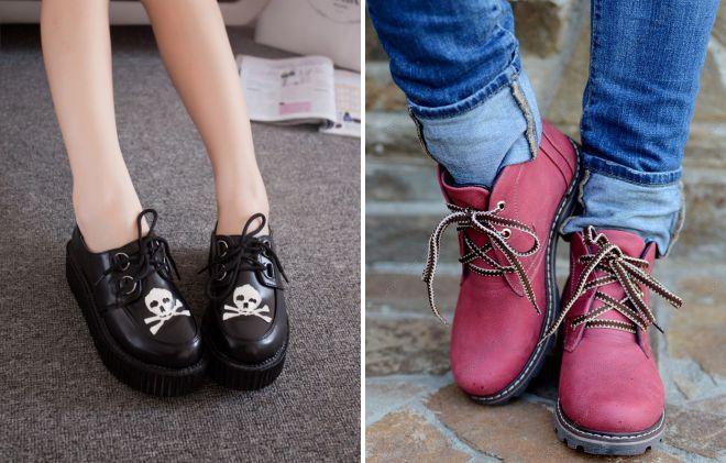 обувь в молодежном стиле