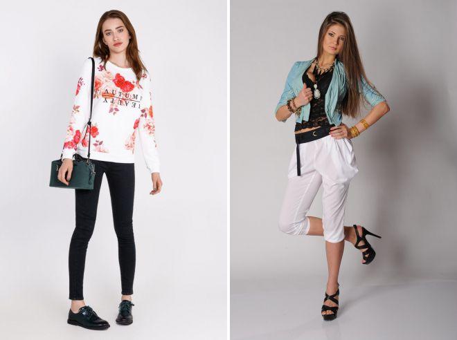 женская молодежная одежда