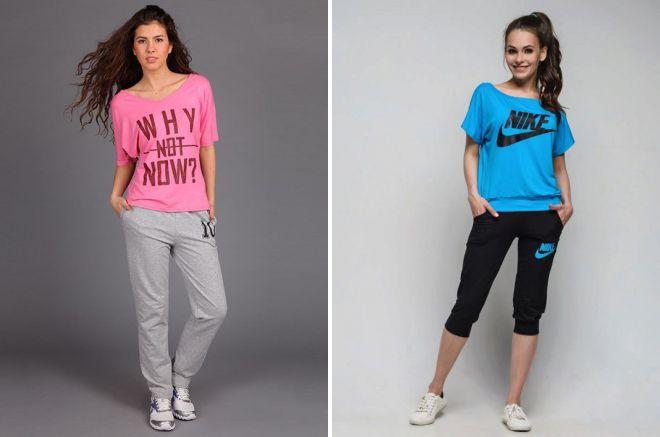 молодежная спортивная одежда