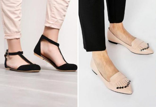 28e477fdb Модная женская обувь без каблука – демисезонная, осенняя, зимняя ...