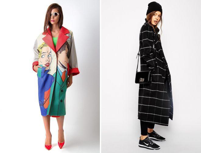 модные пальто и обувь 2018 год