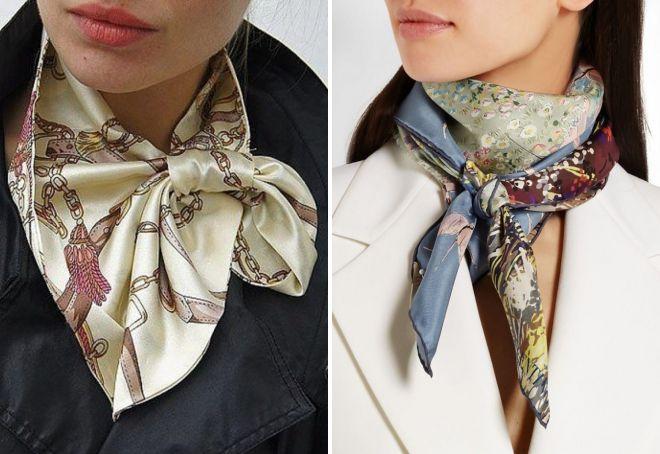 шейный платок с петлей