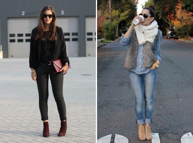 осенние женские замшевые ботинки