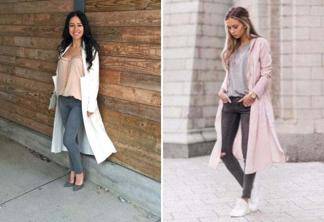 с чем носить серые джинсы 2019